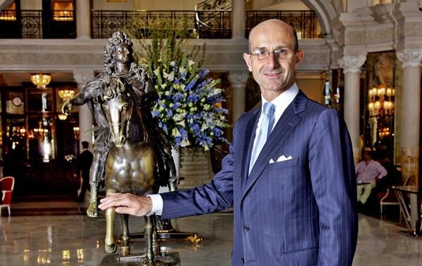 Monaco : Guy Bertaud, à la barre de l'Hôtel de Paris, ''monument'' de l'hôtellerie de la SBM