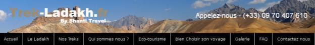 Un site 100% dédié au Ladakh, par Shanti Travel