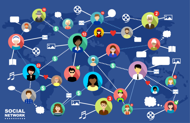 Dans le cadre d'une recherche d'emploi, ou d'un poste à pourvoir, le réseau professionnel semble être un allié fiable. - Depositphotos