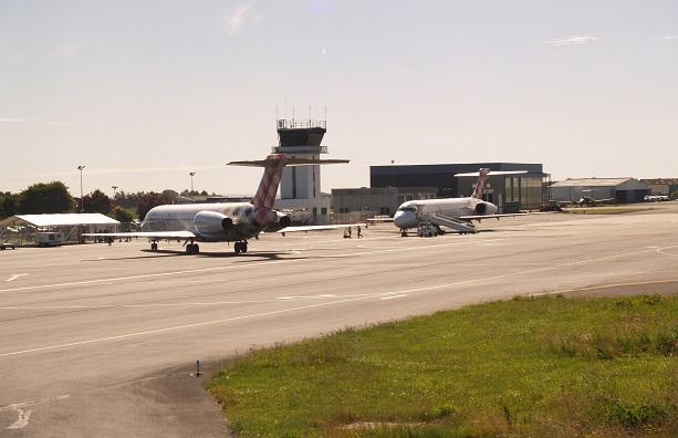 L'aéroport de Caen a connu la plus forte croissance de trafic passagers en 2018 - Crédit photo : Aéroport de Caen