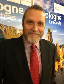 Tomasz Rudomino, directeur de l'Office national polonais du tourisme à Paris /crédit photo DR