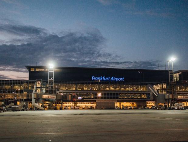 A Francfort, le personnel est appelé à la grève jusqu'à 20h ce soir, en particulier au niveau des postes de contrôle de sécurité situés en dehors de la zone de transit - DR : Facebook Frankfurt Airport