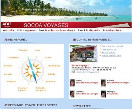 Afat Voyages : les nouveaux sites web démarrent cette semaine
