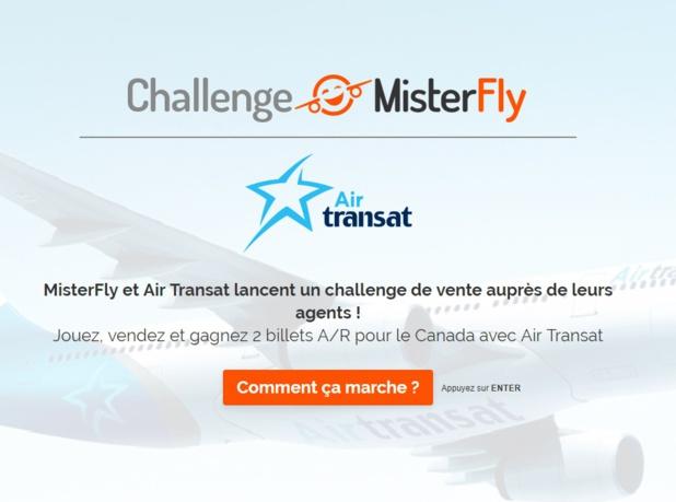 Pour participer, les agents de voyages devront répondre à quelques questions et vendre un maximum de billets d'avion d'Air Transat - DR
