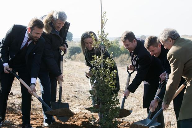 La cérémonie officielle de la pose de la première pierre du Puy du Fou España s'est déroulée ce mercredi 16 janvier 2019 - DR : Puy du Fou