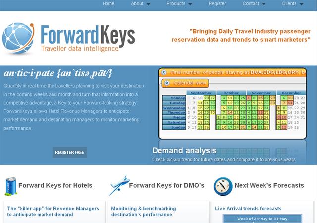 Forwardkeys.com vous dévoile les statistiques de tous les GDS
