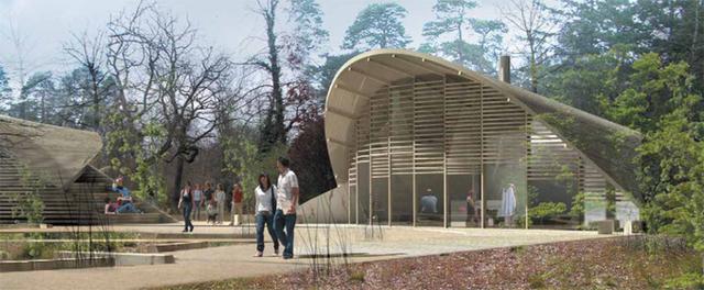 Depuis le 5 mai dernier, le site des Gorges de Franchard accueille le premier centre d'écotourisme d'Ile de France - DR