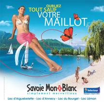 Savoie Mont Blanc à l'honneur dans les vitrines Sélectour