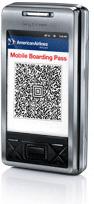 American Airlines : la carte d'embarquement sur mobile au départ de Paris CDG