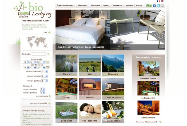 Ecotourisme : le site Internet de BioLodging évolue