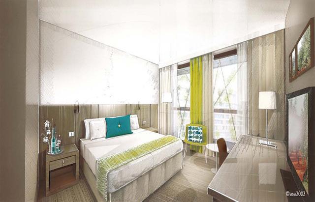 Le Courtyard Montpellier Hotel sera situé au coeur de la ville, à partir de décembre 2011 - DR