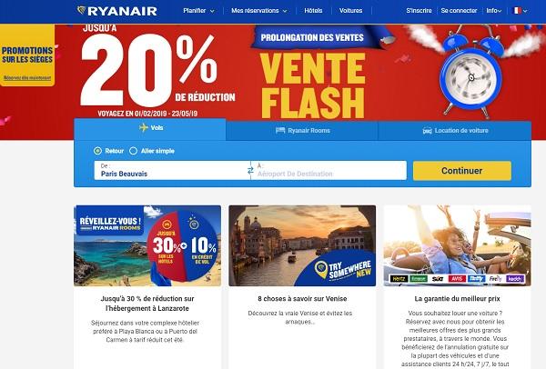 Ryanair met en vente des millions de sièges soldés - Crédit photo : Ryanair