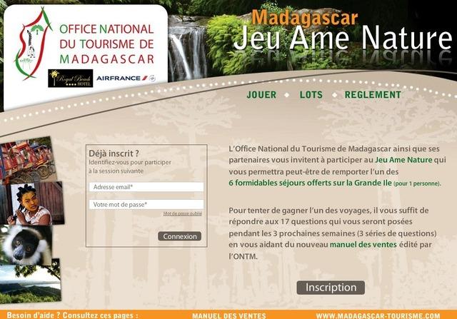OT de Madagascar : 6 séjours à Nosy Be à gagner pour les agents de voyages
