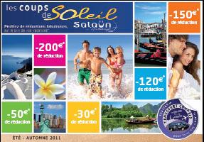 Salaün Holidays fait paraître son catalogue ''Coups de Soleil''