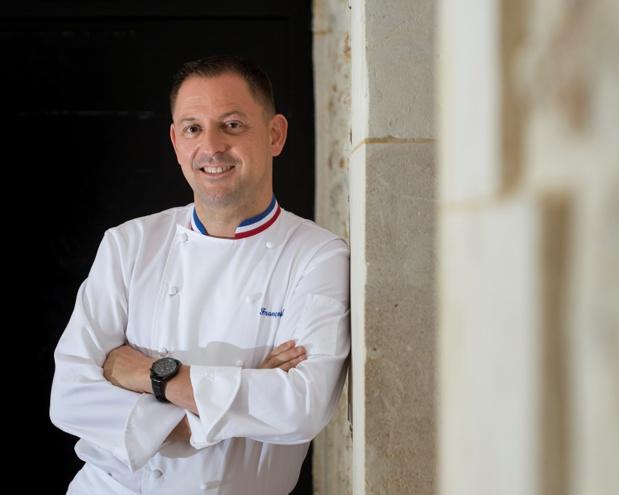 François Adamski nouveau corporate chef de Servair - DR Servair