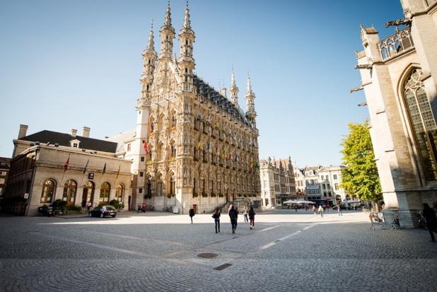 L'hôtel de ville, merveille d'art gothique - DR visite Leeuven