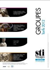 STI Voyages édite sa brochure Groupe 2012
