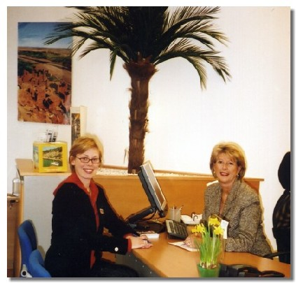 Elizabeth Leenhardt et Karine Latouche