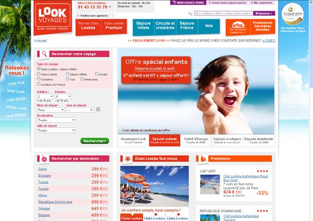 Look Voyages lance une nouvelle version de son site Internet grand public