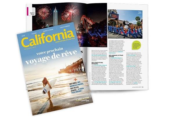 Visit California édite une nouvelle version de son guide du visiteur - Crédit photo : Visit California