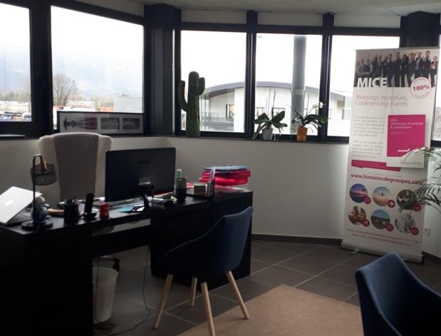 Les nouveaux bureaux d'Histoires de Groupes sont situés à Veurey-Voroize (38), au 285 allée de l'Emporey - DR : Histoires de Groupes