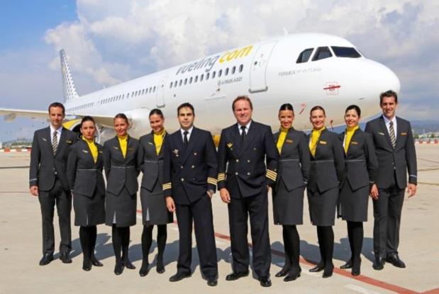 Vueling recrute 100 hôtesses de l'air et stewards en France - DR Vueling