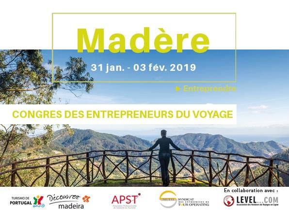 Le congrès des EDV se tiendra à Madère du 31 janvier 2018 au 3 février 2019 - DR