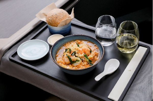 Cathay Pacific propose des menus d'inspiration hongkongaise - Crédit photo : Cathay Pacific