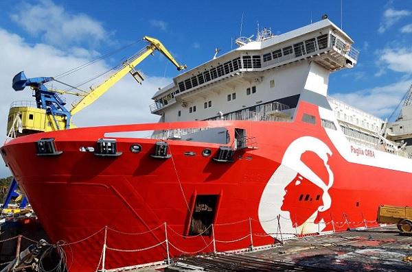 Corsica Linea va électrifier ses navires à quai à partir de 2019 - Crédit photo : Corsica Linea