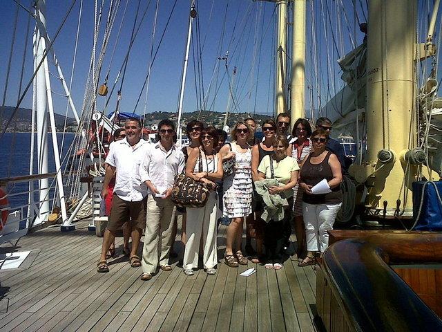 CIC : une quinzaine d'agents de voyages sur le Star Flyer