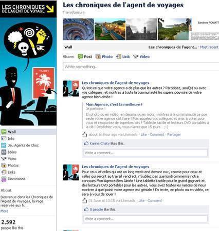 Amadeus lance un concours sur sa page Facebook