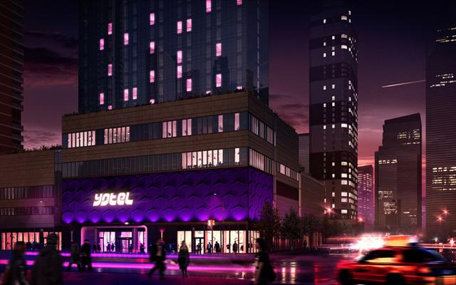 Le yotel New York est situé au croisement de West 42nd Street et de la 10e Avenue à Times Square - DR
