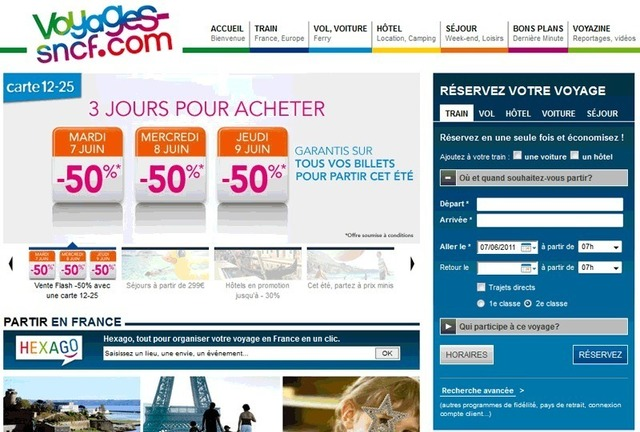 Carte 12-25 ans SNCF : 50% de réduction garantie cet été