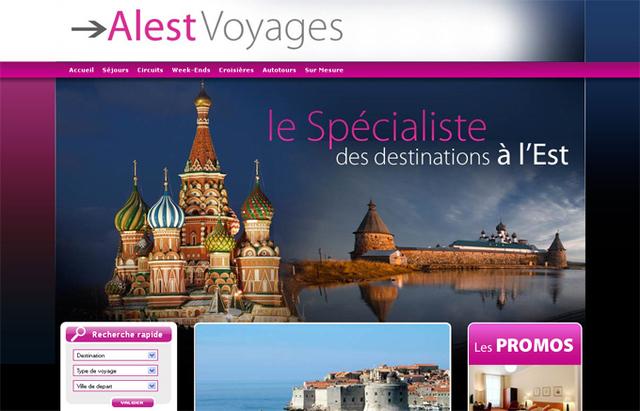 Alest Voyages : la nouvelle production Printemps-Été 2011 et Hiver 2012 en ligne