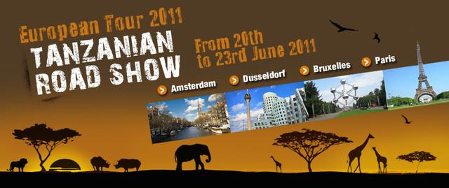 Tanganyika Expeditions vous invite au Road Show de la Tanzanie 2011