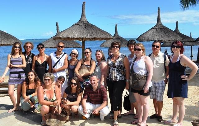 Heritage Resorts : 17 agents de voyages en visite au Domaine de Bel Ombre