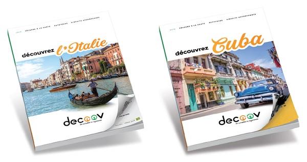 Cuba et l'Italie sont rassemblées sous la bannière Decoov et dispose de leur brochure dédiée - DR