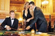 Jeu de table au Casino de Monte-Carlo DR SBM