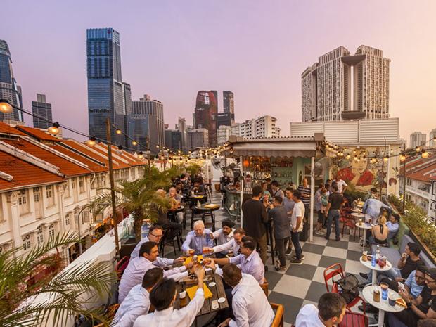 Singapour, une ville idéale pour se rassembler !