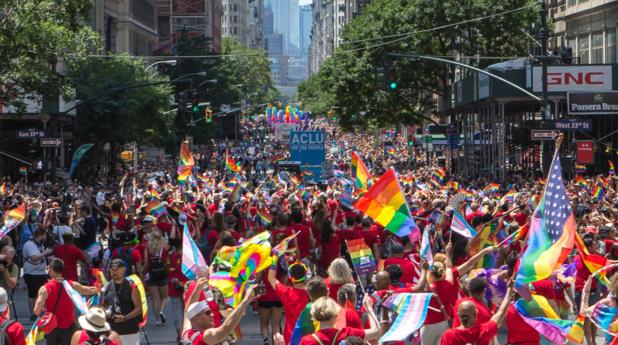 En 2019, NYC Pride accueillera la World Pride à l'occasion du cinquantième anniversaire du soulèvement de Stonewall et d'un demi-siècle de combat pour la reconnaissance des LGBTQIA : DR : Christopher Gagliardi