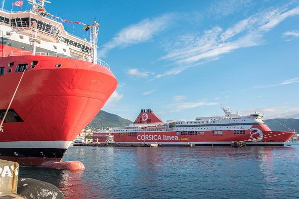 Cosica Linea - ENSM : un partenariat pour sensibiliser sur les carrières maritimes - Crédit photo : Corsica Linea