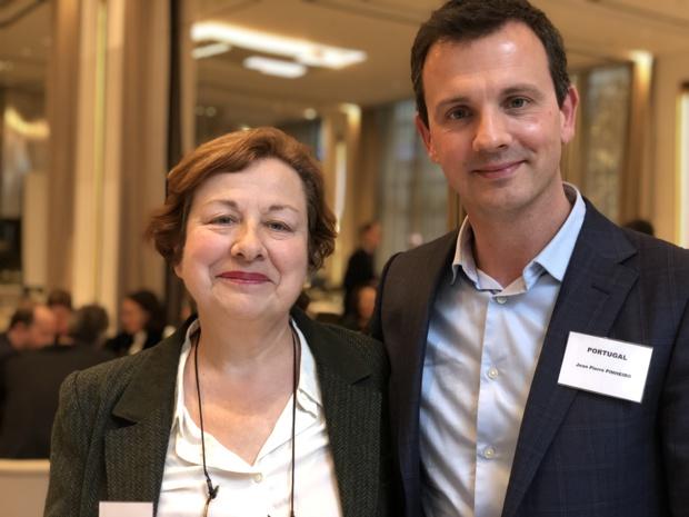 Paule Boyer et J.-P. Pinheiro /crédit photo JDL