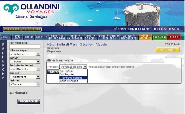 Corse : Ollandini Voyages inclut les traversées dans ses forfaits