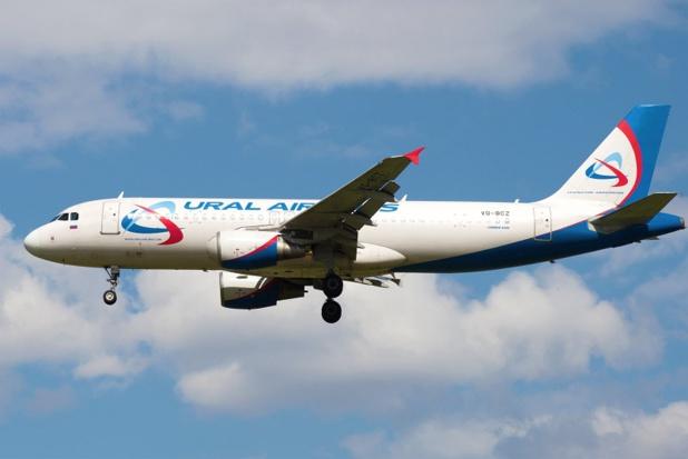 Ural Airlines proposera deux fréquences hebdomadaires, les mardis et jeudis, entre Nice Côte d'Azur et Moscou Joukovski, du 1er mai au 26 octobre 2019 - DR : Ural Airlines