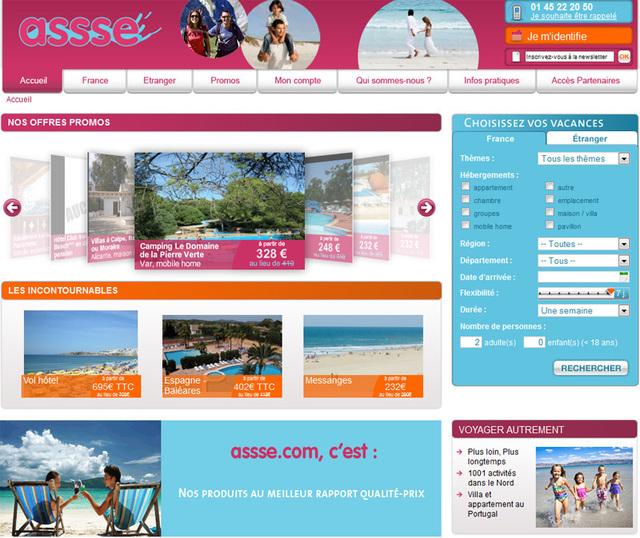 Le nouveau site permet aux comités d'entreprises de réserver leurs voyages directement depuis leur ordinateur