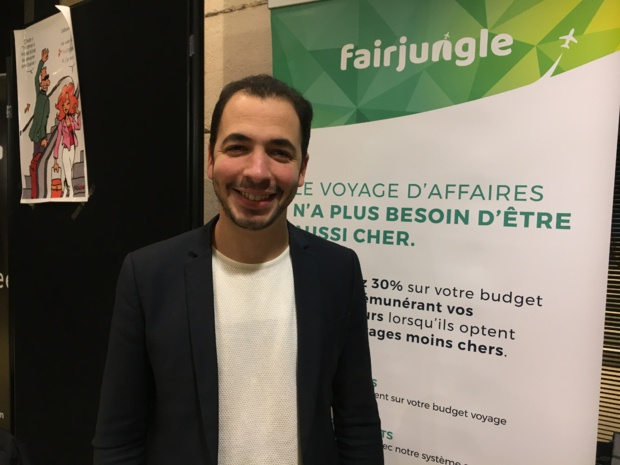 Saad Berrada, co-fondateur et CEO de Fairjungle - C.L.