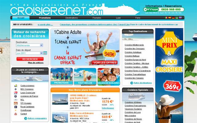 Croisierenet.com revend toutes les compagnies de croisières - DR