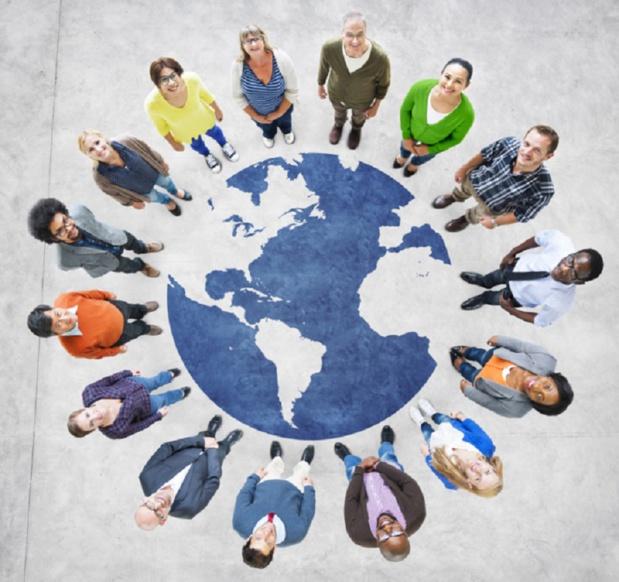 Travailler avec des gens de culture différente, cela s'apprend. - Depositphotos