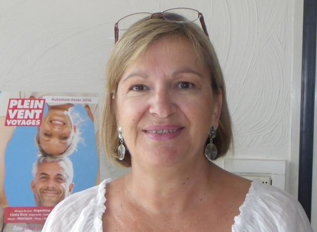 Carole Pellicer, directeur général délégué Plein Vent Voyages-Tourivac,est la nouvelle présidente du Snav Côte d'Azur - DR : M.B.