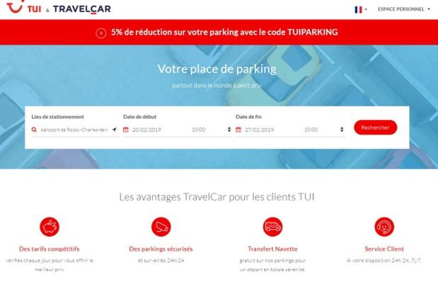 Parking : TravelCar partenaire de TUI France